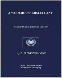 A Wodehouse Miscellany Articles and Stor... by Wodehouse, Pelham Grenville