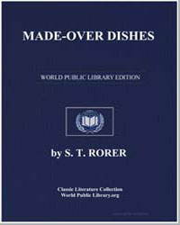 Made-Over Dishes by Rorer, S. T.