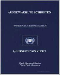 Ausgewaehlte Schriften by Kleist, Heinrich Von
