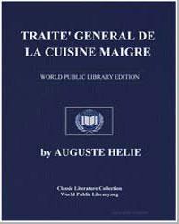 Traite' General de la Cuisine Maigre by Helie, Auguste