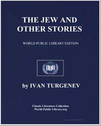 The Jew and Other Stories by Turgenev, Ivan S.