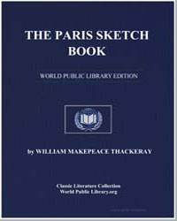 The Paris Sketch Book by Thackeray, William Makepeace