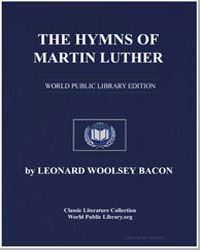 The Hymns of Martin Luther by