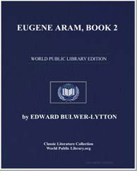 Eugene Aram, Book 2 by Bulwer-Lytton, Edward