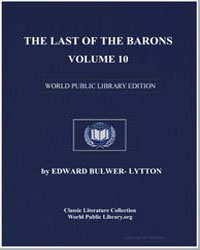 The Last of the Barons : Volume 10 by Bulwer-Lytton, Edward