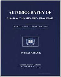 Autobiography of Ma-Ka-Tai-Me-She-Kia-Ki... by Hawk, Black