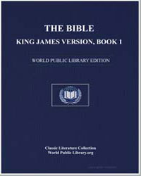 The Bible, King James Version, Book 1 : ... by