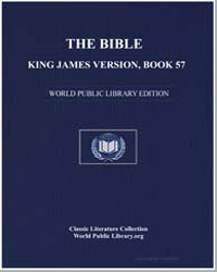 The Bible, King James Version, Book 57 :... by
