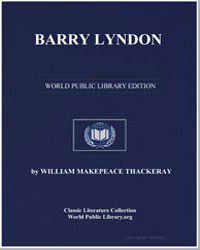 Barry Lyndon by Thackeray, William Makepeace