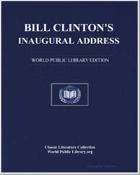Clinton's Inaugural Address by