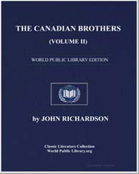 The Canadian Brothers (Volume Ii) or the... by Richardson, John