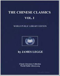 The Chinese Classics Volume 1 : Confucia... by Legge, James