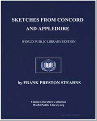 Sketches from Concord and Appledore by Stearns, Frank Preston