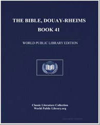 The Bible, Douay-Rheims, Book 41 : Sopho... by