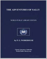 The Adventures of Sally by Wodehouse, Pelham Grenville