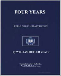 Four Years by Yeats, William Butler