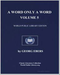 A Word Only a Word, Vol. 5 by Ebers, Georg