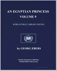 An Egyptian Princess, Vol. 9 by Ebers, Georg