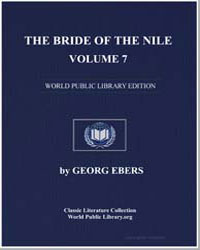 The Bride of the Nile, Volume 7 by Ebers, Georg