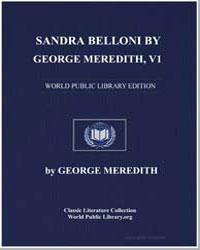 Sandra Belloni by George Meredith, Volum... by Meredith, George