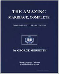 The Amazing Marriage by Meredith, George