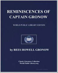Reminiscences of Captain Gronow : Being ... by Gronow, Rees Howell, Captain