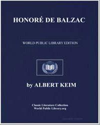 Honore de Balzac by Keim, Albert