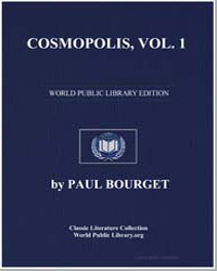 Cosmopolis, Vol. 1 by Bourget, Paul