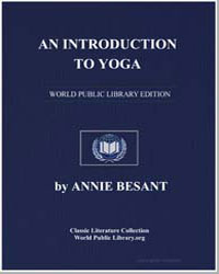 An Introduction to Yoga by Besant, Annie