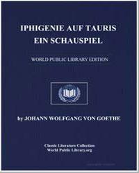 Iphigenie auf Tauris ein Schauspiel by Goethe, Johann Wolfgang Von