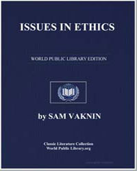 Issues in Ethics by Vaknin, Sam