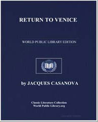Return to Venice by Casanova, Jacques