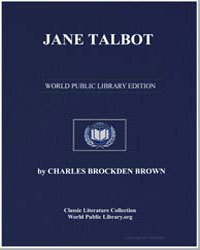 Jane Talbot by Brown, Charles Brockden