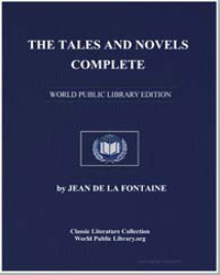 The Tales and Novels by De La Fontaine, Jean