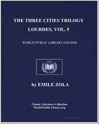 The Three Cities Trilogy : Lourdes, Volu... by Zola, Émile