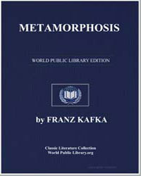 Metamorphosis by Kafka, Franz