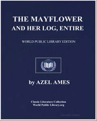 The Mayflower and Her Log by Ames, Azel