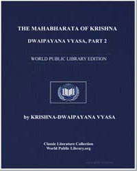 The Mahabharata of Krishna-Dwaipayana Vy... by Vyasa, Krishnadwaipayana