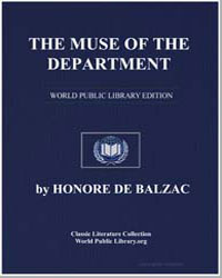 The Muse of the Department by De Balzac, Honore