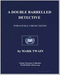 A Double Barrelled Detective Story by Twain, Mark