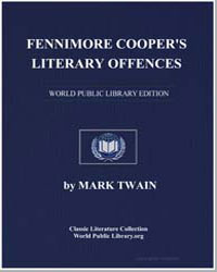 Fennimore Cooper's Literary Offences by Twain, Mark