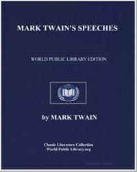 Mark Twain's Speeches by Twain, Mark