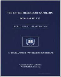 The Entire Memoirs of Napoleon Bonaparte... by De Bourrienne, Louis Antoine Fauvelet