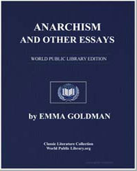 Anarchism and Other Essays by Goldman, Emma
