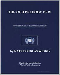 The Old Peabody Pew by Wiggin, Kate Douglas Smith