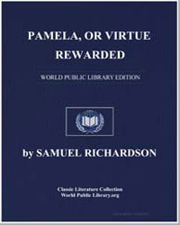 Pamela, Or Virtue Rewarded by Richardson, Samuel