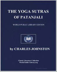 The Yoga Sutras of Patanjali by Johnston, Charles