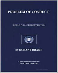 Problems of Conduct by Drake, Durant