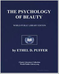 The Psychology of Beauty by Puffer, Ethel D.