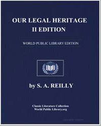 Our Legal Heritage by Reilly, S. A.